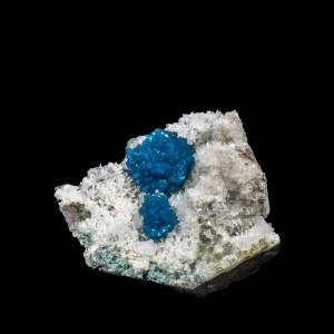Persian Blue Cavansite with Stilbite