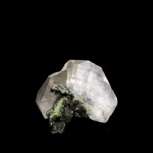 Calcite with Mottramite