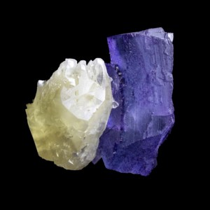 Blue Fluorite and Calcite